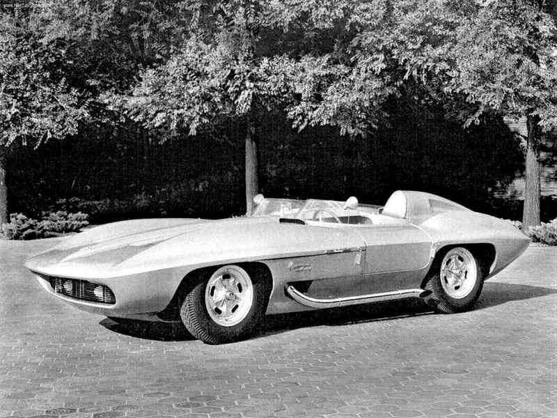 Chevrolet Corvette Sting Ray 1959 года
