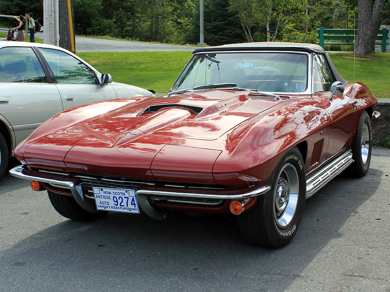 Chevrolet Corvette Sting Ray 1967 года