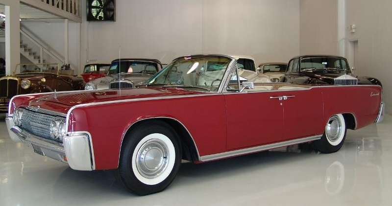 Lincoln Continental 1963 года